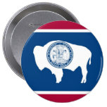 Bandera del estado de Wyoming Pin