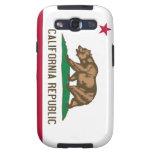 Bandera del estado del oso de la república de Cali Galaxy S3 Protector