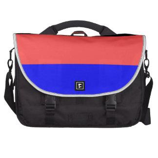 Bandera del este de Frisia (Alemania) Bolsas Para Portatil