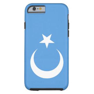 Bandera del este de Turkestan Uyghur Funda Resistente iPhone 6