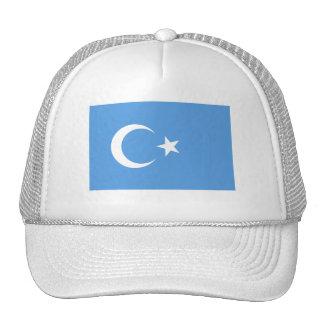 Bandera del este de Turkestan Uyghur Gorro De Camionero