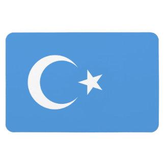 Bandera del este de Turkestan Uyghur Imán Flexible