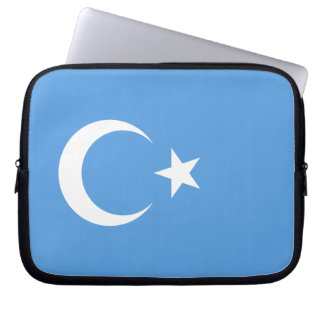 Bandera del este de Turkestan Uyghur Manga Portátil