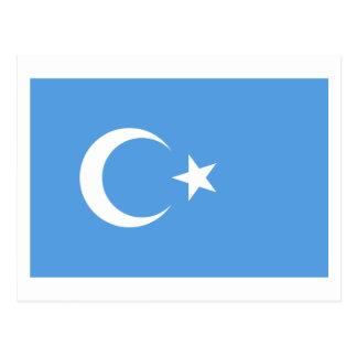 Bandera del este de Turkestan Uyghur Postales