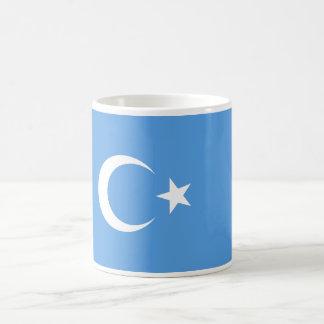 Bandera del este de Turkestan Uyghur Taza De Café
