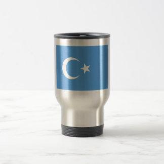 Bandera del este de Turkestan Uyghur Taza De Viaje