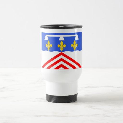 Bandera del Eure-et-Loir Tazas De Café