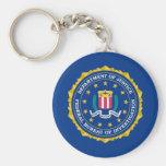 Bandera del FBI Llaveros