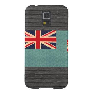 Bandera del Fijian del modelo del vintage Carcasas De Galaxy S5