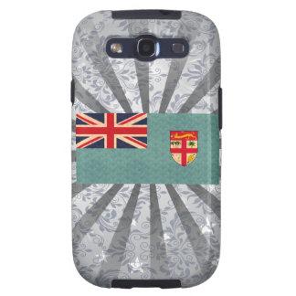 Bandera del Fijian del modelo del vintage Galaxy S3 Coberturas