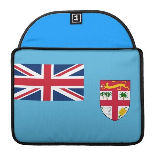 Bandera del Fijian Fundas Para Macbooks