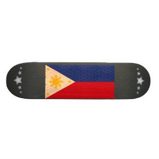 Bandera del filipino del modelo del vintage patin personalizado