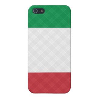 Bandera del ® Fitted™ de la tela escocesa de iPhone 5 Fundas