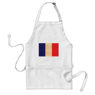Bandera del francés del modelo del vintage delantal