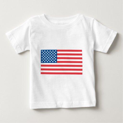 Bandera del funcionario de los E.E.U.U. Playera De Bebé