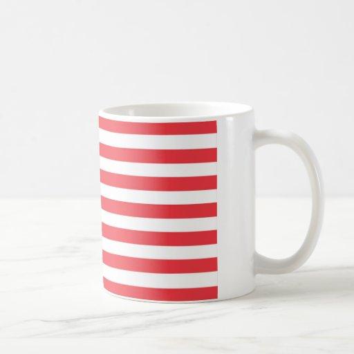 Bandera del funcionario de los E.E.U.U. Tazas De Café