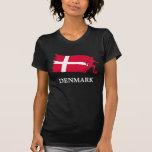 Bandera del fútbol de Dinamarca Camisetas