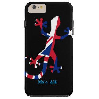 Bandera del Gecko de Hawaii Funda Para iPhone 6 Plus Tough