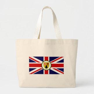 Bandera del gobernador de las islas de Caicos de l Bolsa Tela Grande