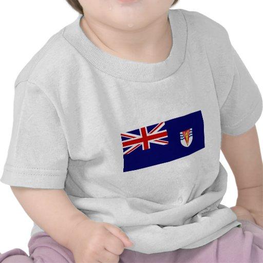 Bandera del gobierno del Territo antártico Camisetas
