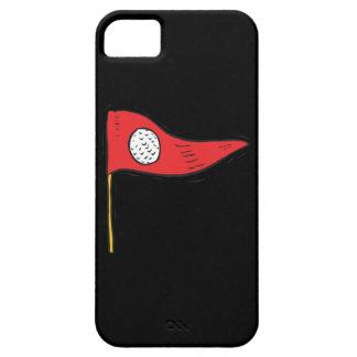 Bandera del golf iPhone 5 fundas