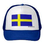 Bandera del gorra de Suecia