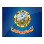 Bandera del gran estado de Idaho Tarjetas Postales