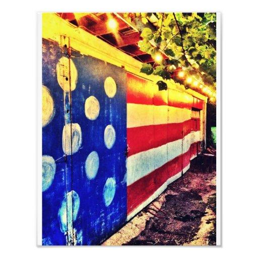 Bandera del granero foto