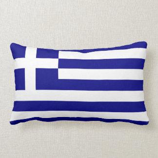Bandera del Griego de Grecia Cojín Lumbar