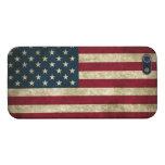 Bandera del Grunge de América: iPhone 5 Fundas