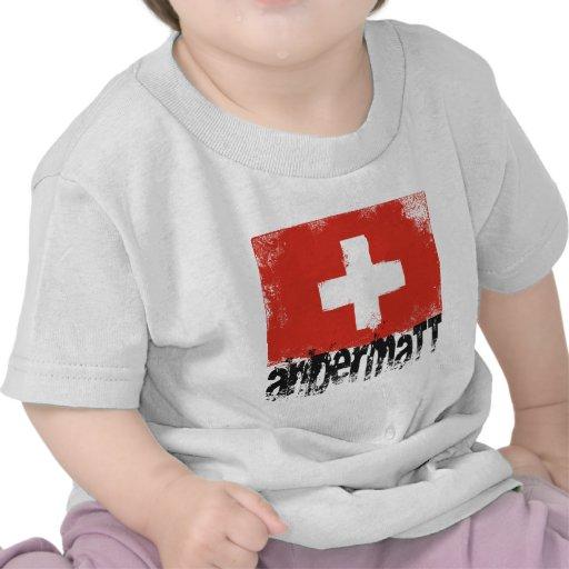 Bandera del Grunge de Andermatt Camisetas