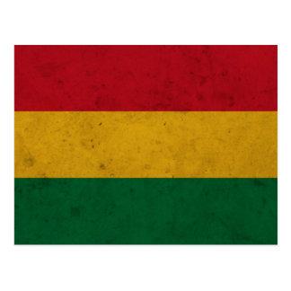 Bandera del Grunge de Bolivia Postal