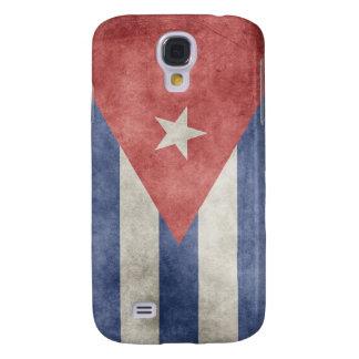 Bandera del Grunge de Cuba Funda Para Galaxy S4