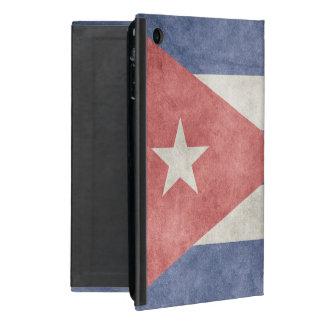 Bandera del Grunge de Cuba iPad Mini Fundas