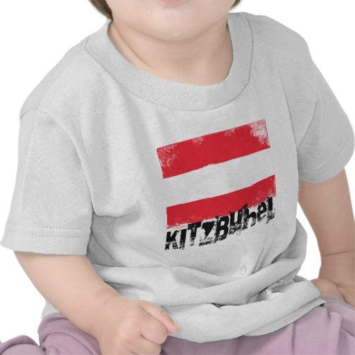 Bandera del Grunge de Kitzbühel Camisetas