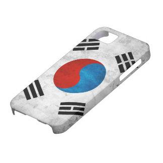 Bandera del Grunge de la Corea del Sur iPhone 5 Case-Mate Cárcasas