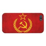 Bandera del Grunge de Rusia: iPhone 5 Carcasas