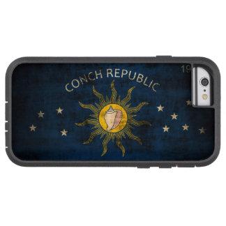 Bandera del Grunge del vintage de Key West la Funda Para iPhone 6 Tough Xtreme