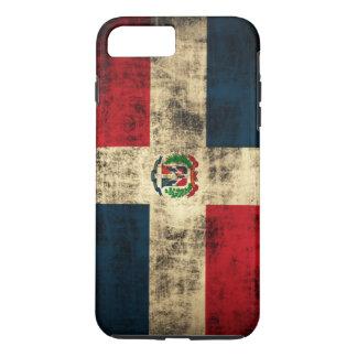Bandera del Grunge del vintage de la República Funda iPhone 7 Plus