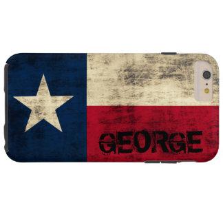 Bandera del Grunge del vintage de Personalzied de Funda De iPhone 6 Plus Tough