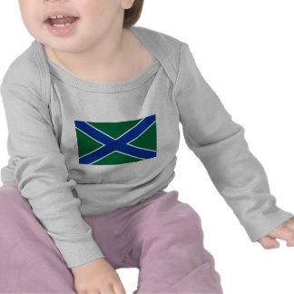 Bandera del guardia de la frontera de la camiseta