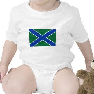Bandera del guardia de la frontera de la trajes de bebé