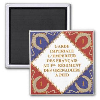 bandera del guardia imperial imán de frigorifico