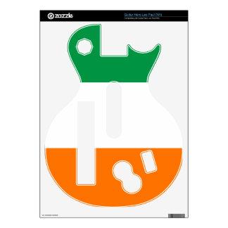 Bandera del héroe Les Paul (Wii) de la guitarra de Calcomanías Para Guitar Hero