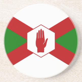Bandera del hierro de Norn Posavasos Personalizados