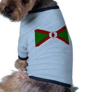 Bandera del hierro de Norn Camisas De Mascota