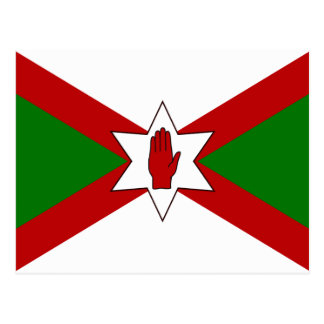 Bandera del hierro de Norn Tarjeta Postal
