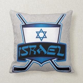Bandera del hockey sobre hielo de Israel Almohadas