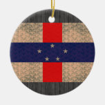 Bandera del holandés del modelo del vintage ornaments para arbol de navidad