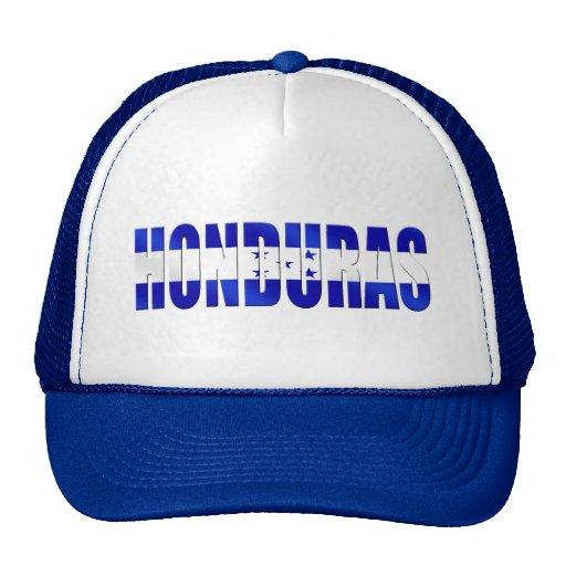 Bandera del Honduran de los regalos del emblema de Gorro De Camionero